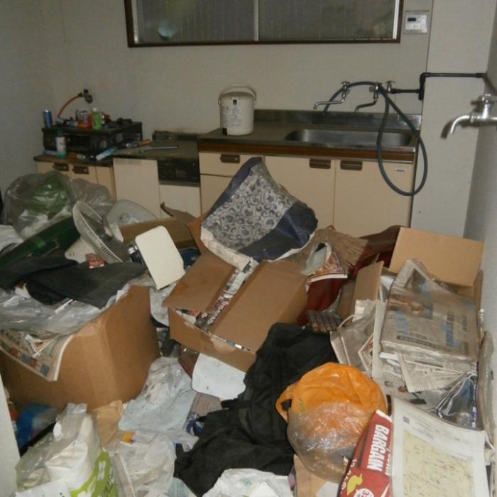 ゴミ部屋の写真