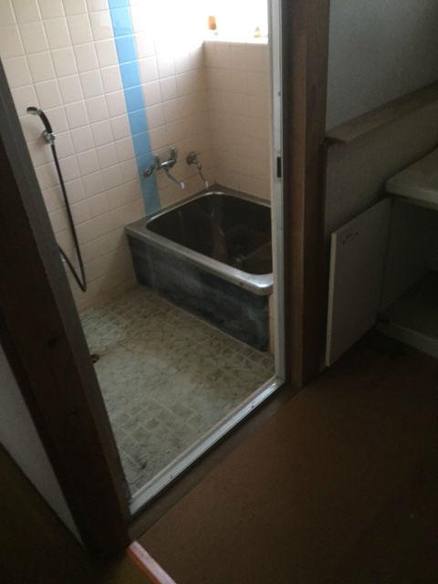 浴室の片付け・清掃後