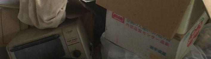 栃木県宇都宮市にてゴミ屋敷の清掃・片付けを行いました。
