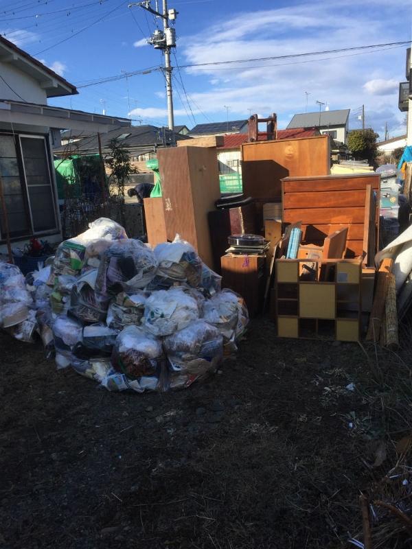 ゴミの処分量
