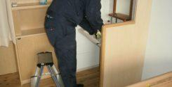 お部屋の除菌・消臭とクリーニング作業|栃木県宇都宮市の某介護施設