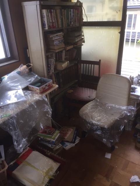 家具などの袋詰め