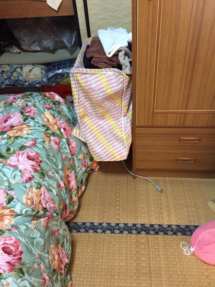 衣服・布団などの遺品物