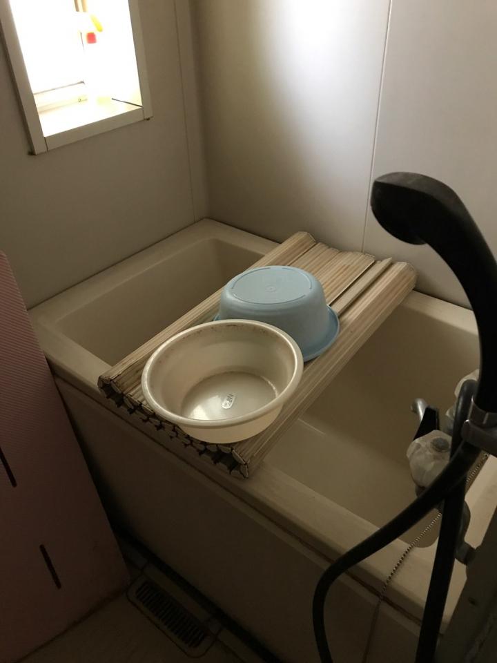 浴室の片付け・整理前