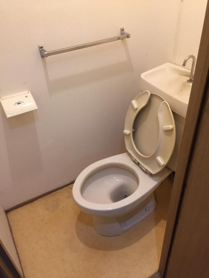 トイレの片付け・整理後