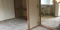 台所での孤独死によるお部屋の特殊清掃・遺品の整理・片付け|栃木県宇都宮市のお客様