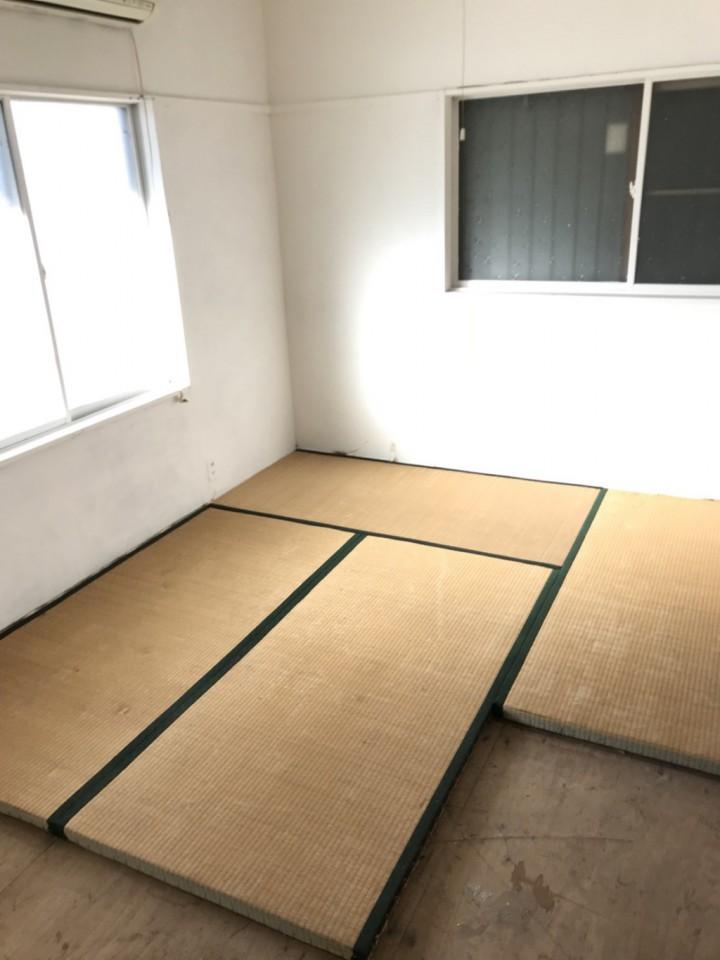和室の特殊清掃・遺品整理の跡