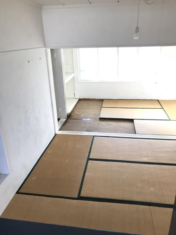 各お部屋の特殊清掃・遺品整理後