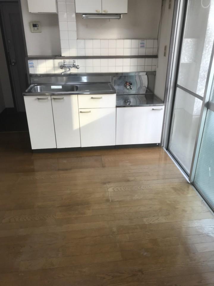 台所(キッチン)の片付け・クリーニングの施工後