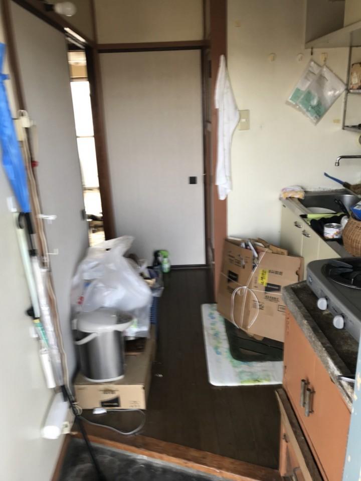 キッチン(台所)の遺品整理・片付け前