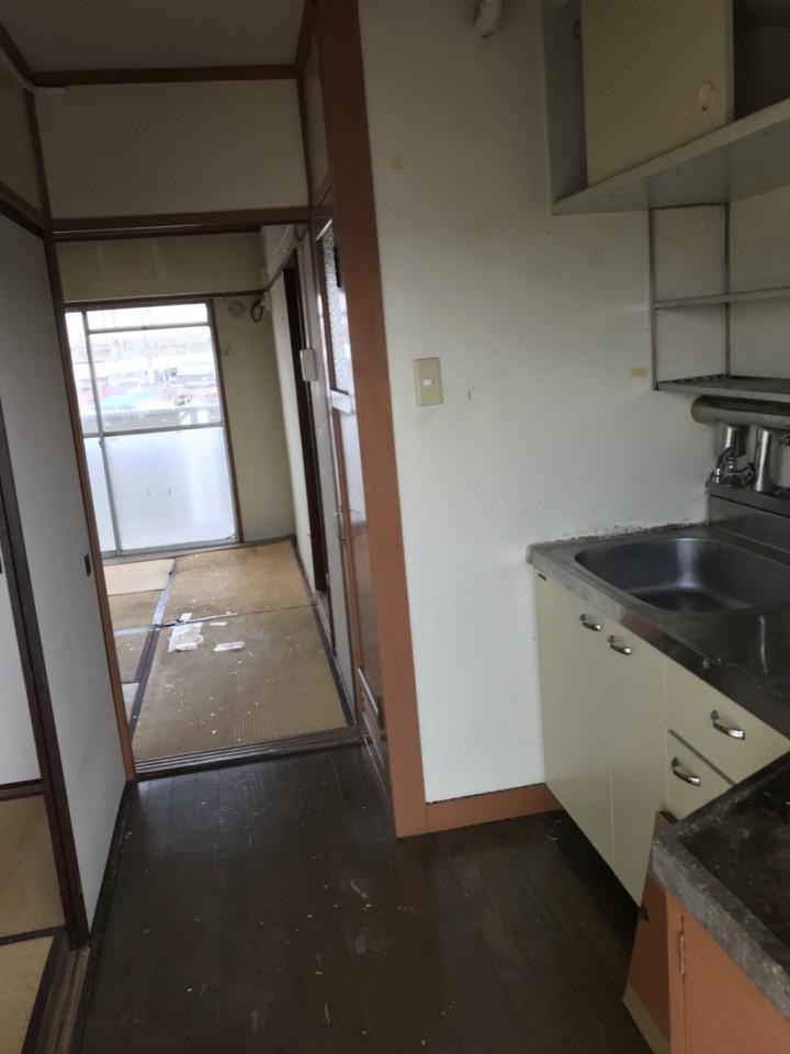 キッチン(台所)の遺品整理・片付け後