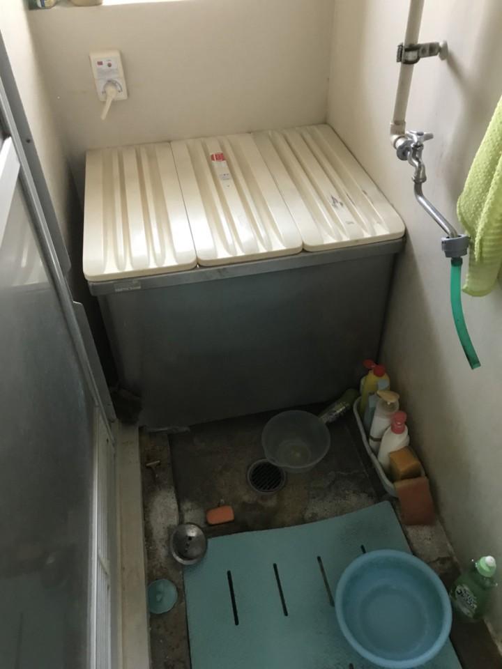 浴室(お風呂)の遺品整理・片付け前