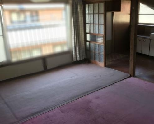 各部屋(和室)の遺品整理後