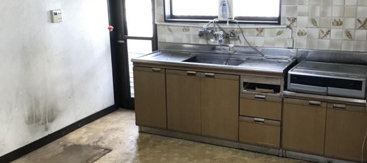 キッチン(台所)の整理後