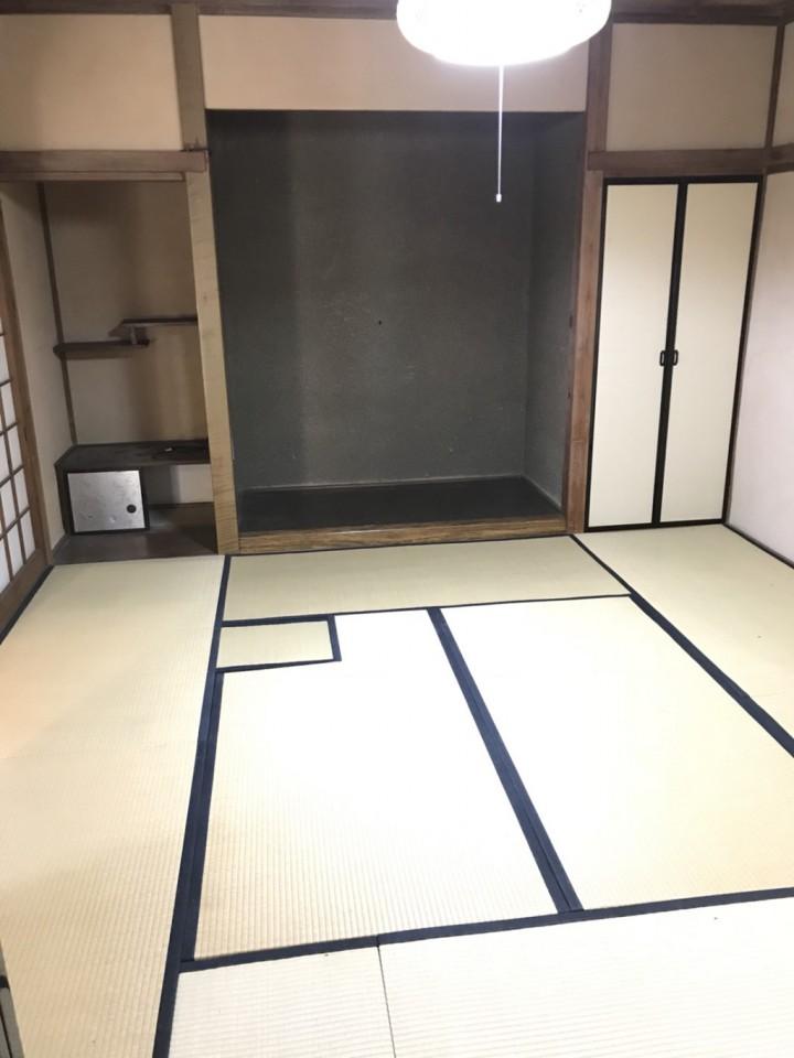床の間整理後