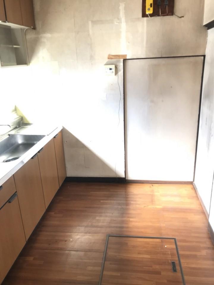 台所(キッチン)の遺品整理後