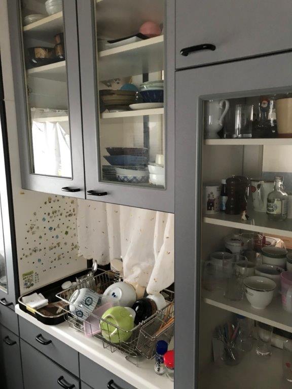 キッチンの整理・片付け前