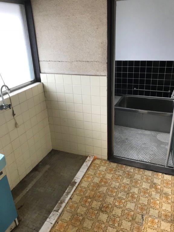 洗面所、及び浴室の整理・片付け後
