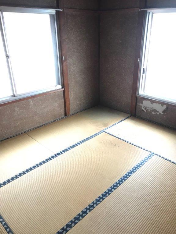 2階の和室の整理・片付け後