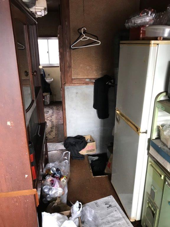 台所(キッチン)の片付け前