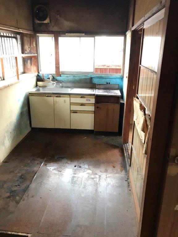 台所(キッチン)の片付け後