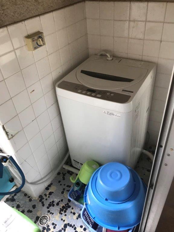 浴室・洗面所の施工前