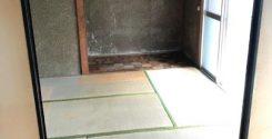 遺品整理に伴う不用品片付けと仏壇のお焚き上げ|栃木県さくら市の平屋の賃貸物件にてお部屋の片付け