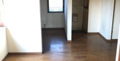 遺品整理に伴う不用品片付け作業 栃木県小山市のベランダ付き賃貸アパートにてお部屋の片付け