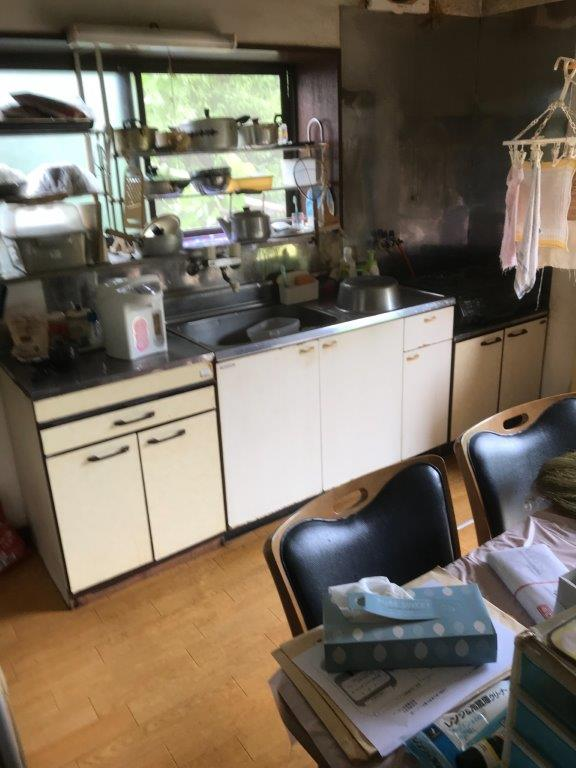 台所の整理・片付け前
