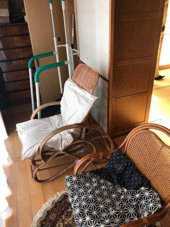 家具の片付け前