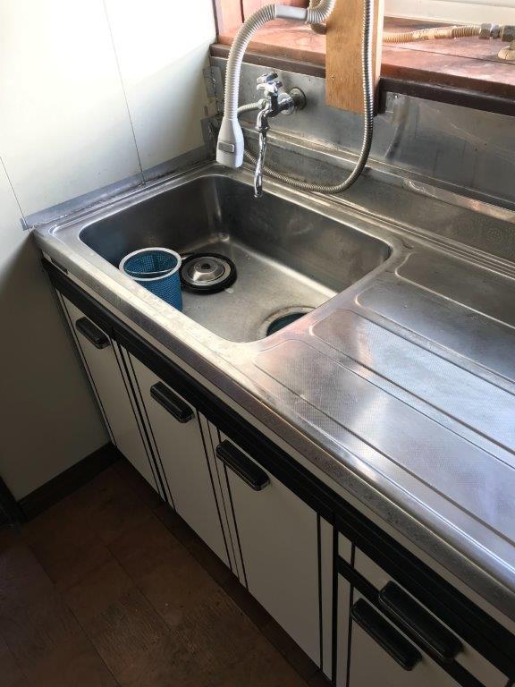 台所の片付け後