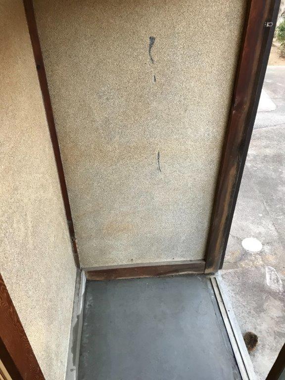 玄関の片付け後
