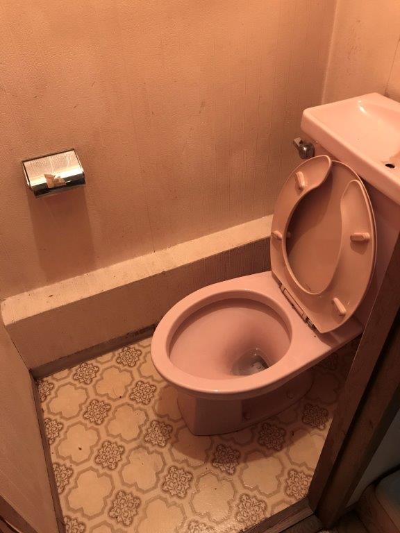 トイレのクリーニング後