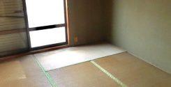 栃木県宇都宮市にて遺品整理に伴う不用品片付けとハウスクリー二ング