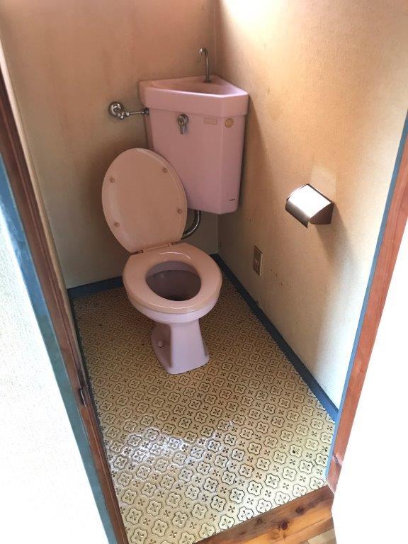 トイレの清掃後