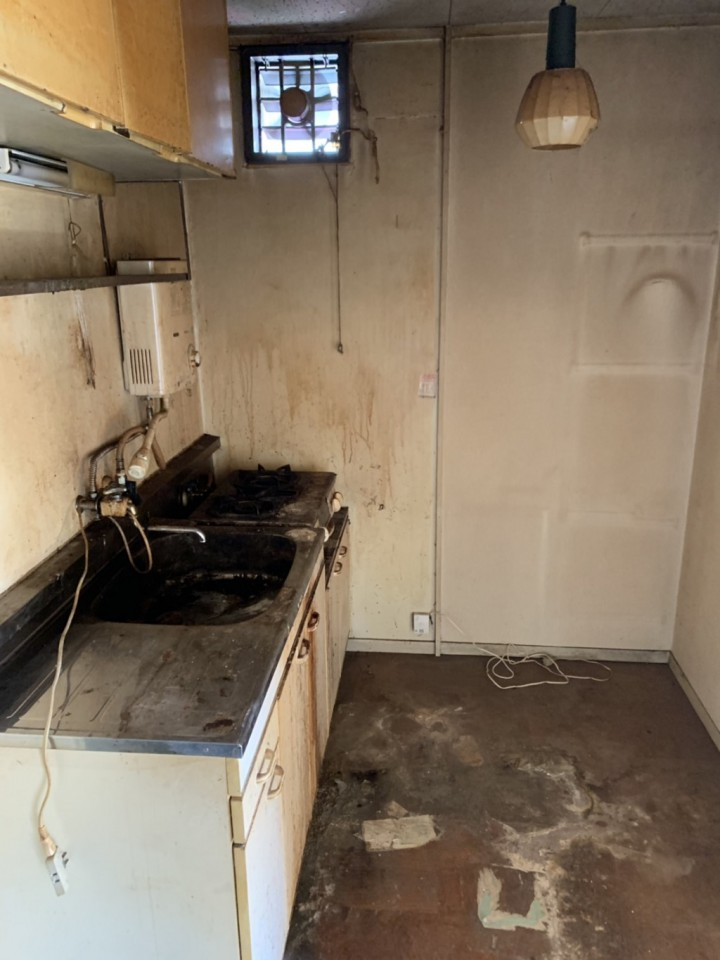キッチン・洗面所の片付け後