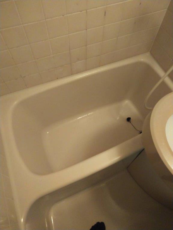 浴室のクリーニング後