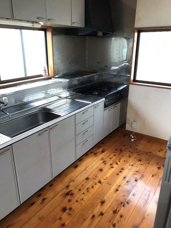 キッチンの片付け後