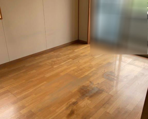 特殊清掃後のお部屋