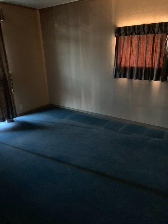 寝室の片付け後