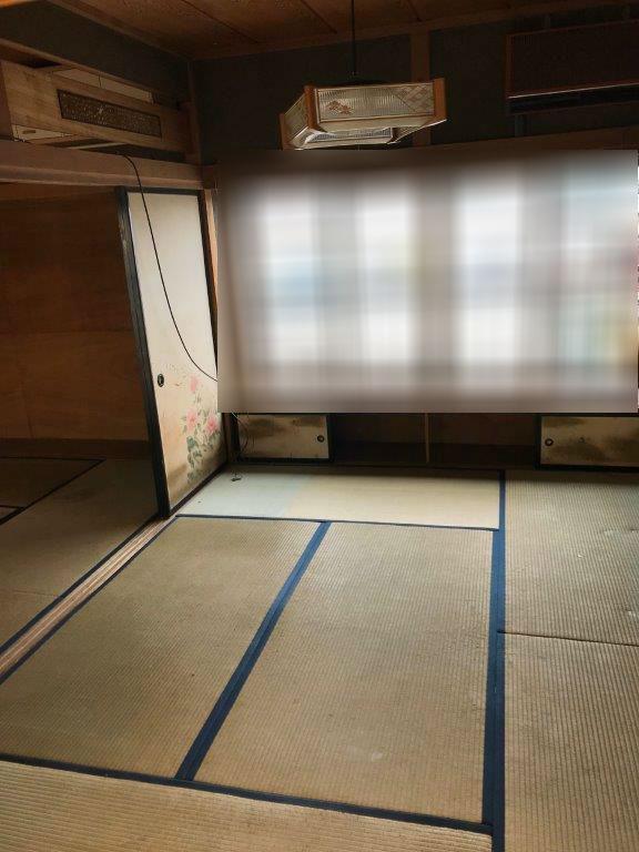 和室(2階)の片付け後