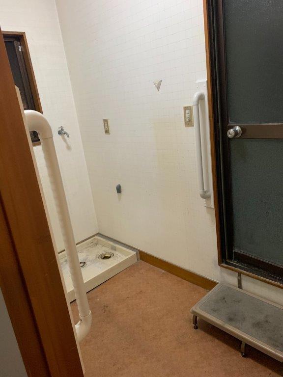 洗面所・浴室の片付け後