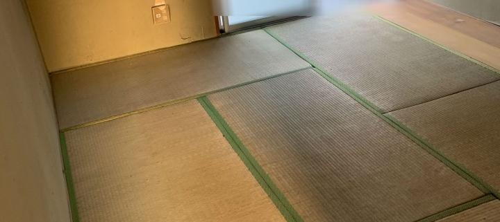 遺品整理後の部屋