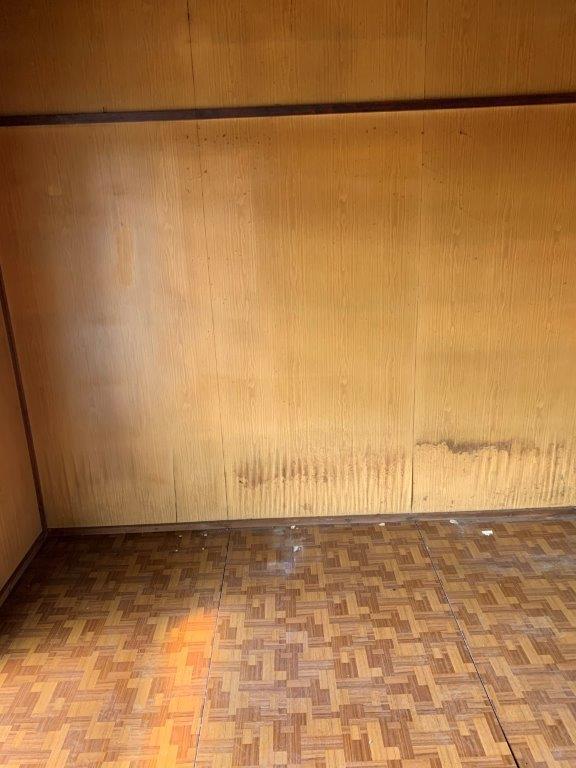 家具の撤去後
