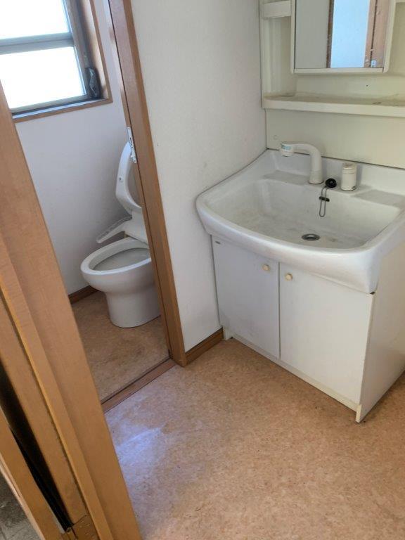 トイレ・洗面所の片付け後