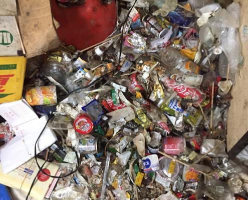 お亡くなりになった方のゴミ屋敷清掃