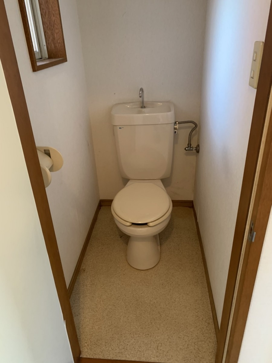 トイレの片付け後