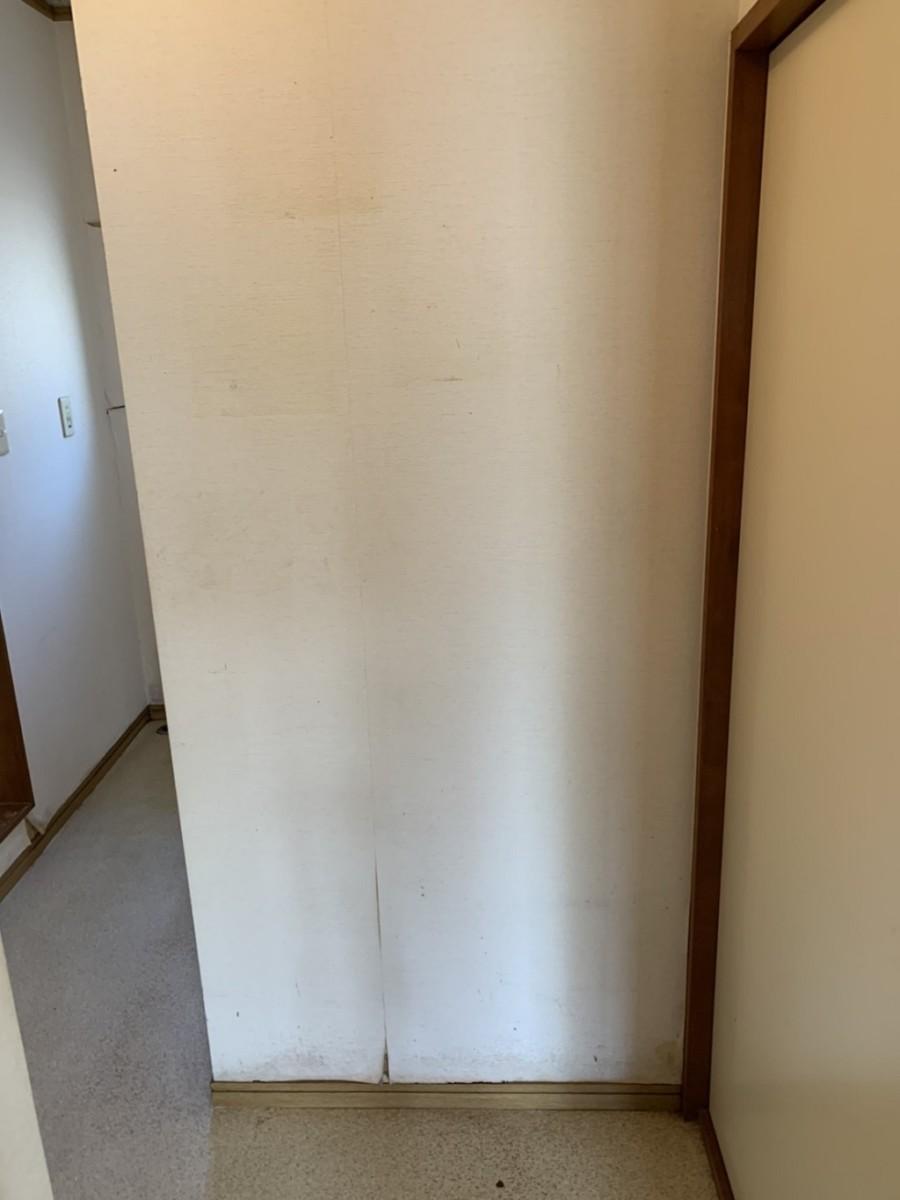廊下の片付け後