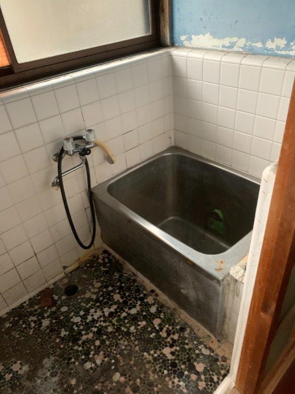お風呂の片付け後