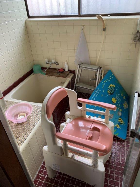浴室・脱衣所の片付け前